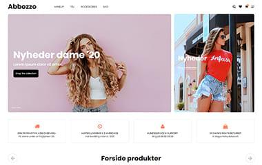 Flotte responsive designs til din Dandomain webshop
